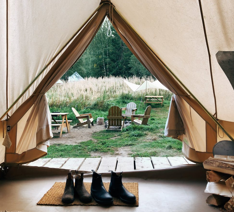 roomy tents give you more comfort