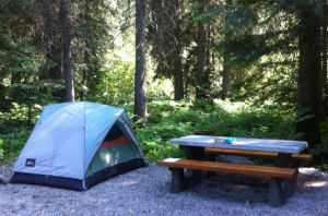 pick a developed campground