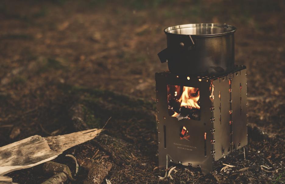 fire stove camping