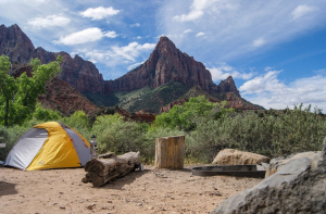 the ideal way to learn to camp is to have an experienced camper with you in your first try