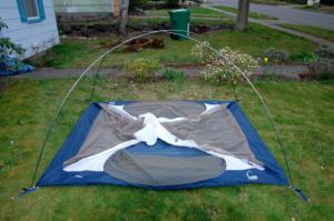A tent construction
