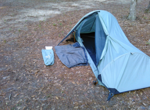 the dimensions of your tent or bivy sack are going to be a huge factor in your decision and you should ensure that you fully understand