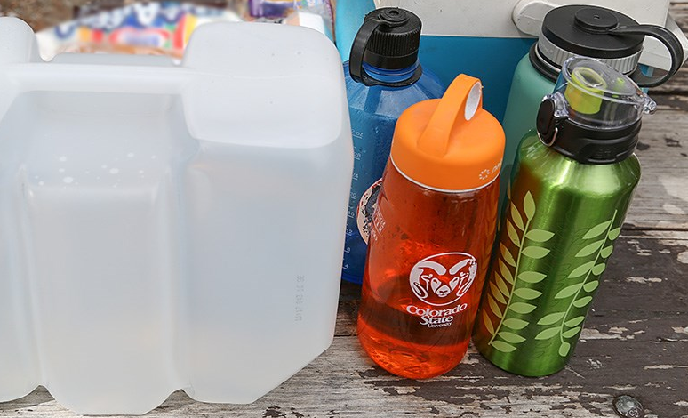 water is a must on camping site that doesn't offer available fresh water