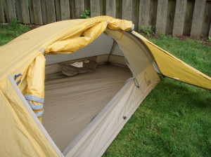 the impact of a tent footprint is generally seen as being one-dimensional and only useful for protecting your tent