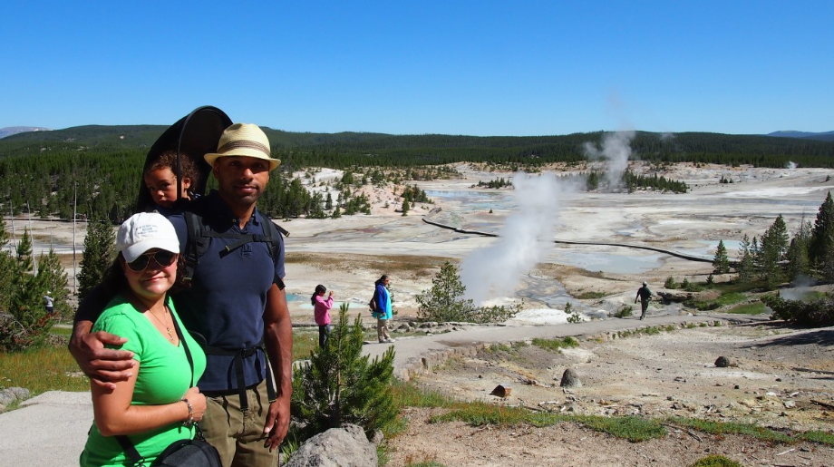how to camp in yellowstone