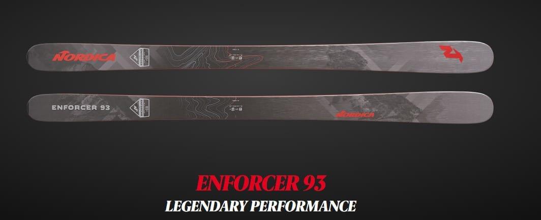capability of enforcer 93 ski