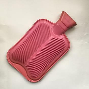 Plastic hot water bottle