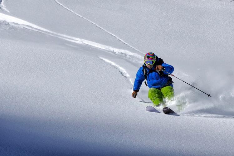 Skiing is tons of fun!